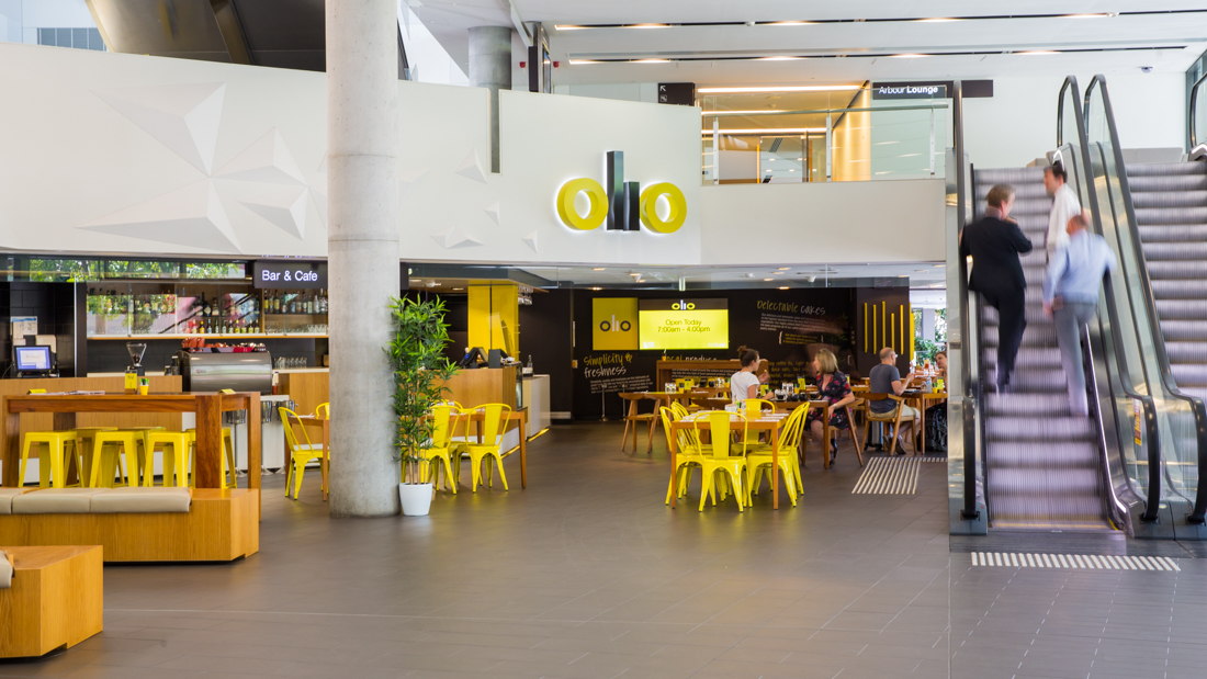 Professional event and commercial photographer for Olio cafe