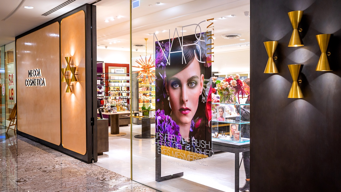 Brisbane Mecca store professional commercial photography