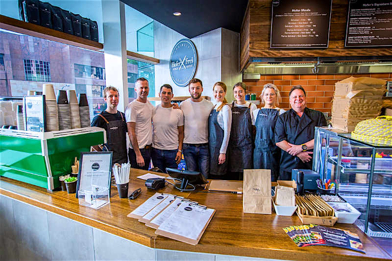Cafe store launch event photography Brisbane.