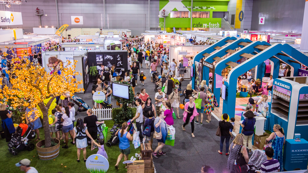 National expo at the Brisbane Convention & Exhibition Centre