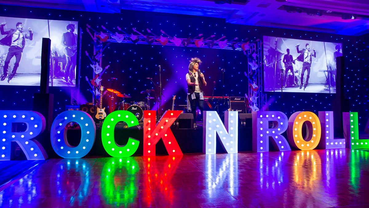 Themed corporate dinner event at the Sheraton Grand Mirage Gold Coast