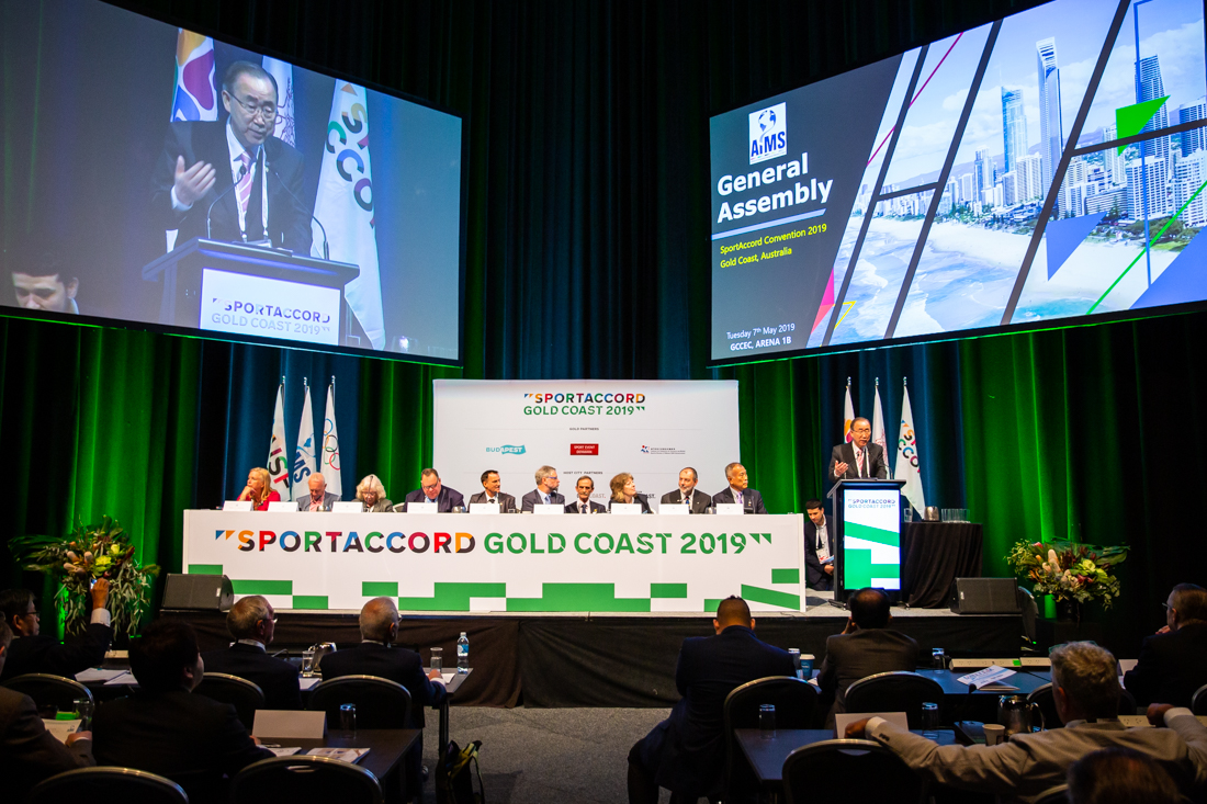Enter the SportAccord Gold Coast 2019 Viewing Gallery - Password required.