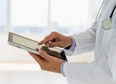 75% of doctors own a smartphone or tablet