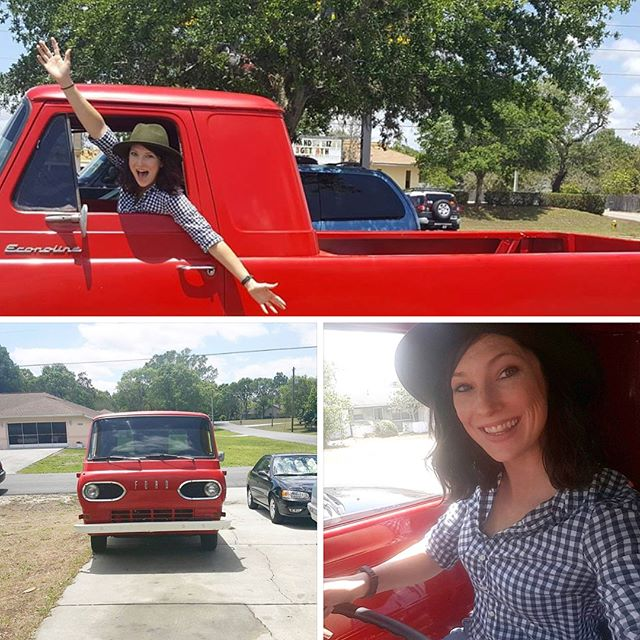 This day, 1 year ago, we bought the Honey Truck! It was a crazy adventure. We found Kennedy on Craigslist and drove to Spring Hill, Fl. We had no idea how to drive a 3-on-the-tree manual. We got a flat tire, broke the pinion yoke, and had to tow it home. But after months of repairs, and learning how to drive a stick shift, the Honey Truck dream became a reality. It makes me tear up knowing this was just a dream and at just the right time in my life God made it happen. For those of you who don't know @richbrooks2 and I have been trying for 2 years to become a family of 3. Purchasing the honey truck and starting this business is a constant reminder of Gods faithfulness. It has been such a sweet gift while we wait. We are excited for how God has provided for us and we are hopeful for what he will continue to do in the future. #honeytruckco #econoline #vintagetruck #ford