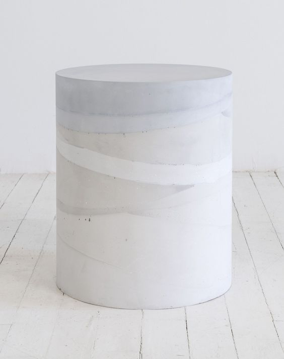 Cement Tables by MMaterial