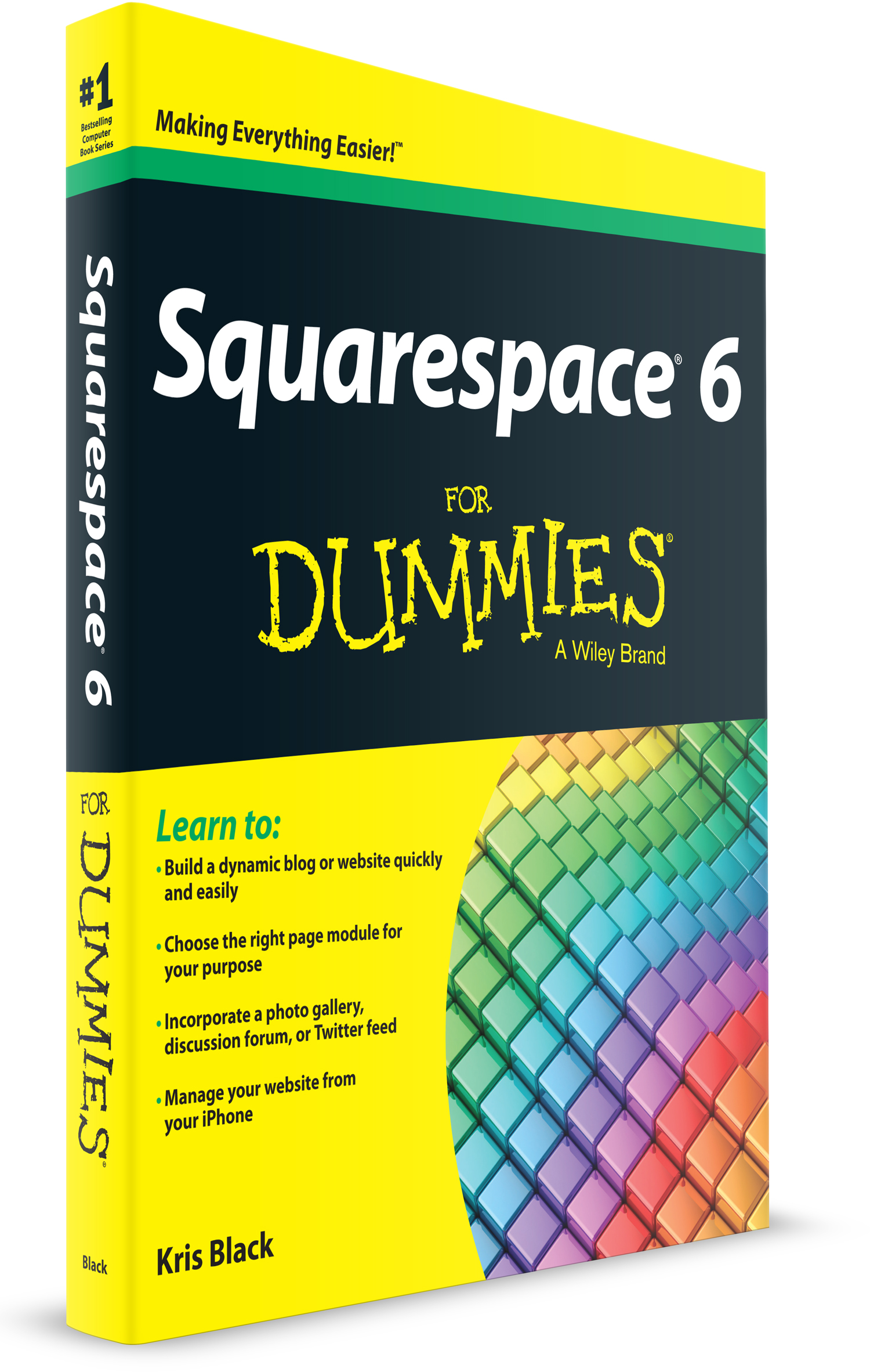 Squarespace 6 ForDummies is available from your favorite bookseller.