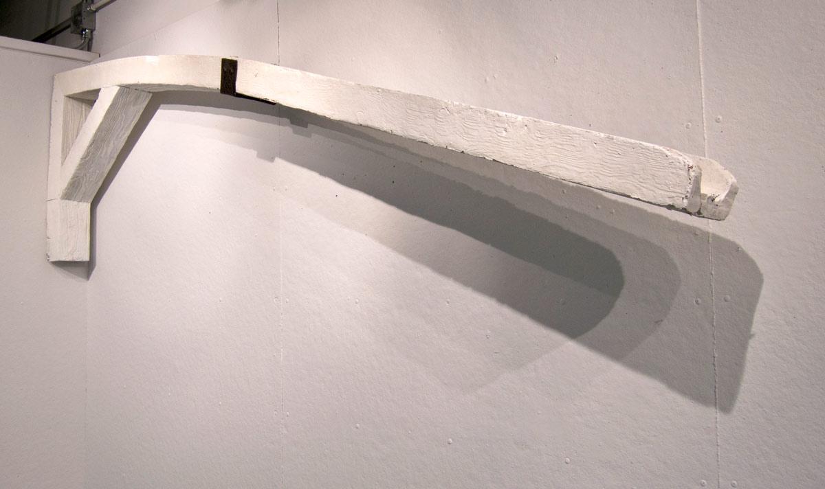 Gallows Humor , polyurethane foam, enamel - 2013
