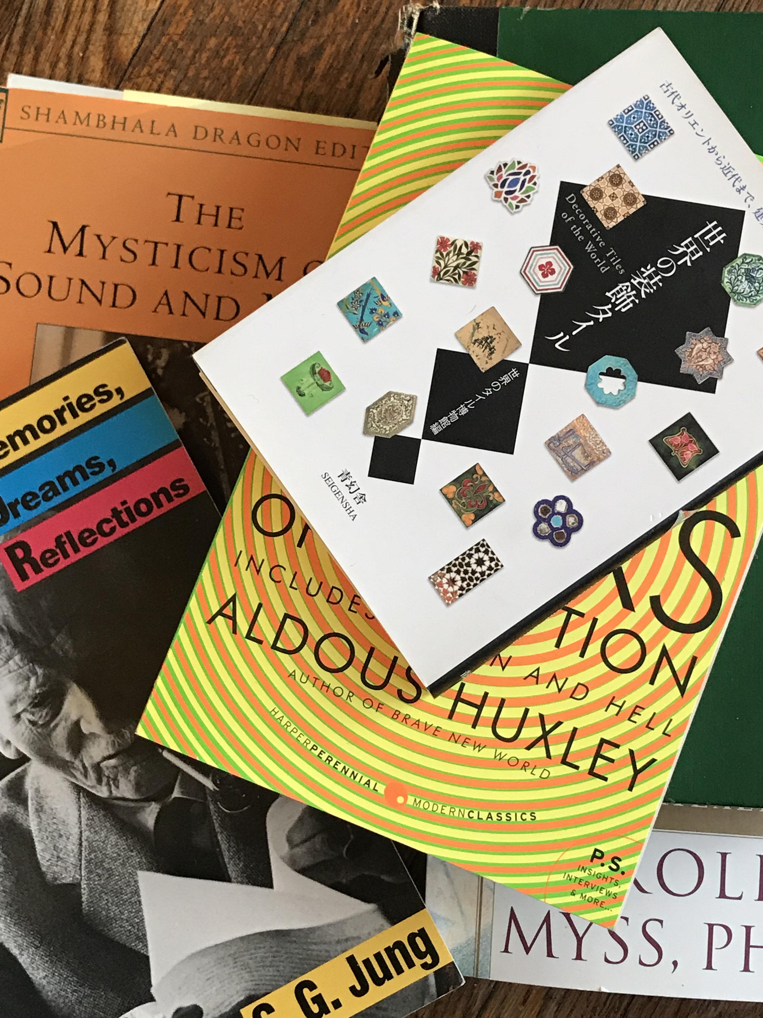 Krishnamurti, Aldous Huxley, Sufism, Private Collection by Neave Bozorgi