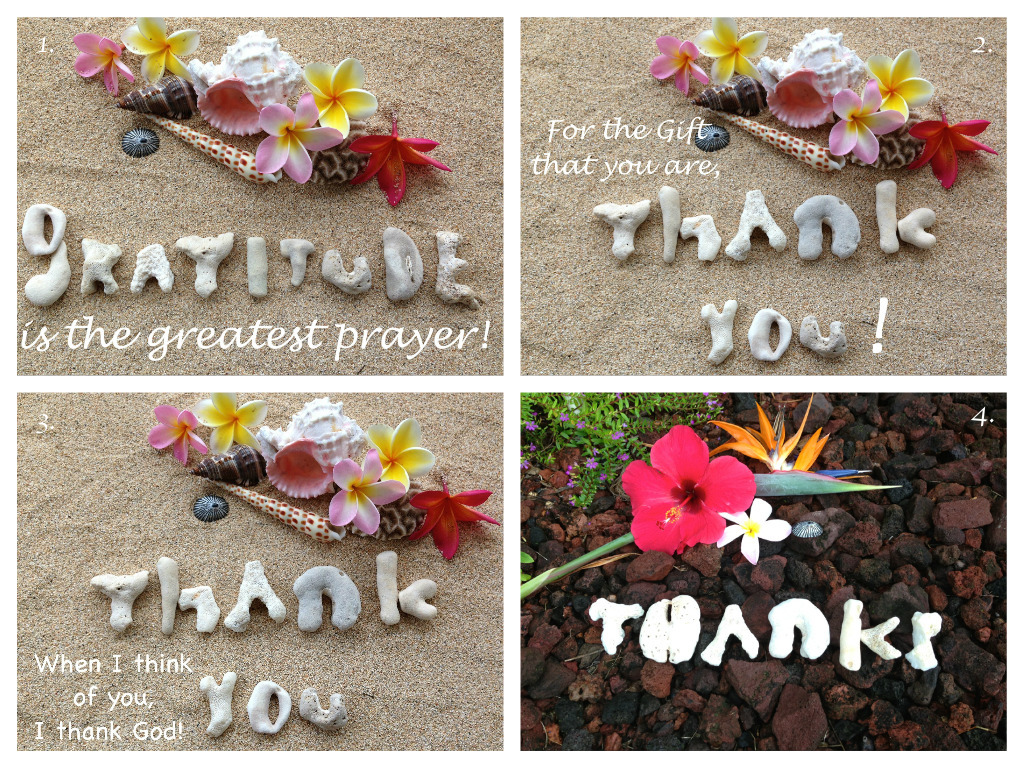Inscribed Thank You Series