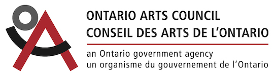 Thanks to Ontario Arts Council for the generous support