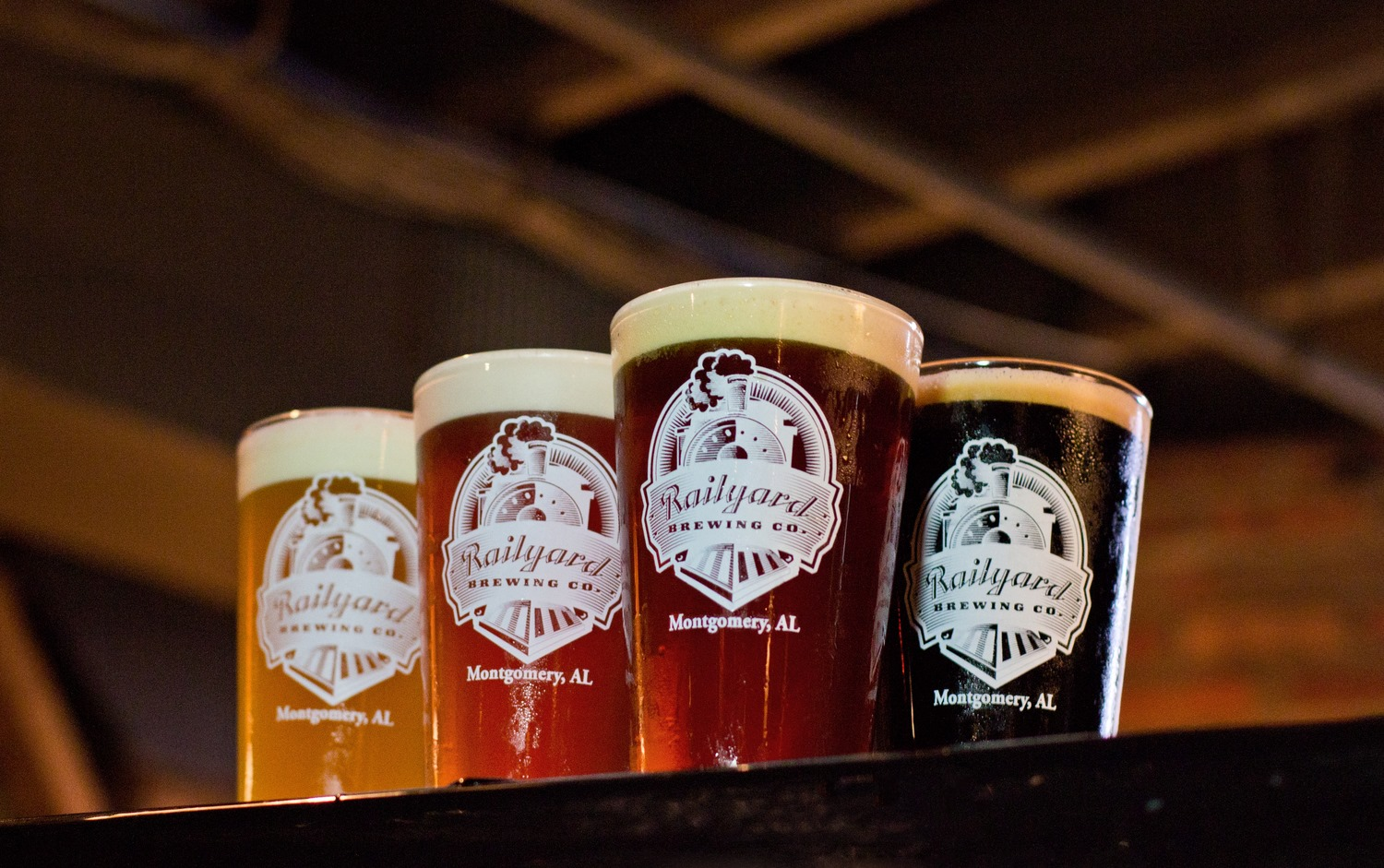 Railyard Brewing Co. is the ONLY brewery in Montgomery.