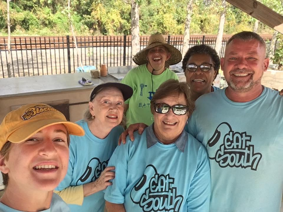 Happy Good Food Day volunteers.