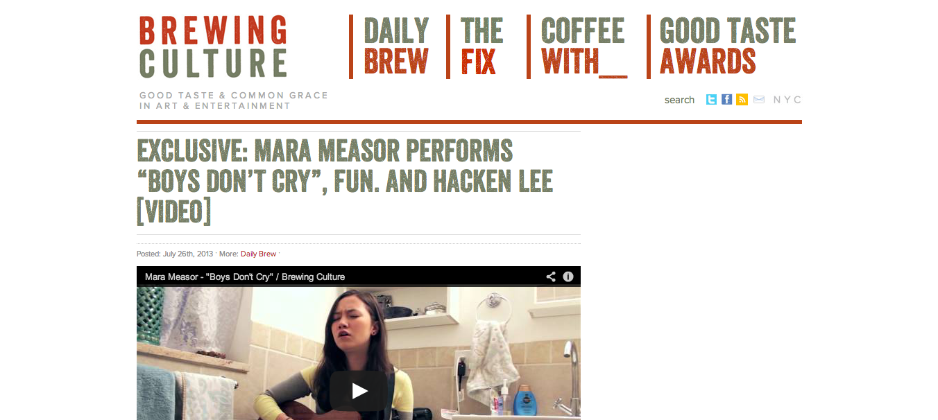 Featured on Brewing Culture