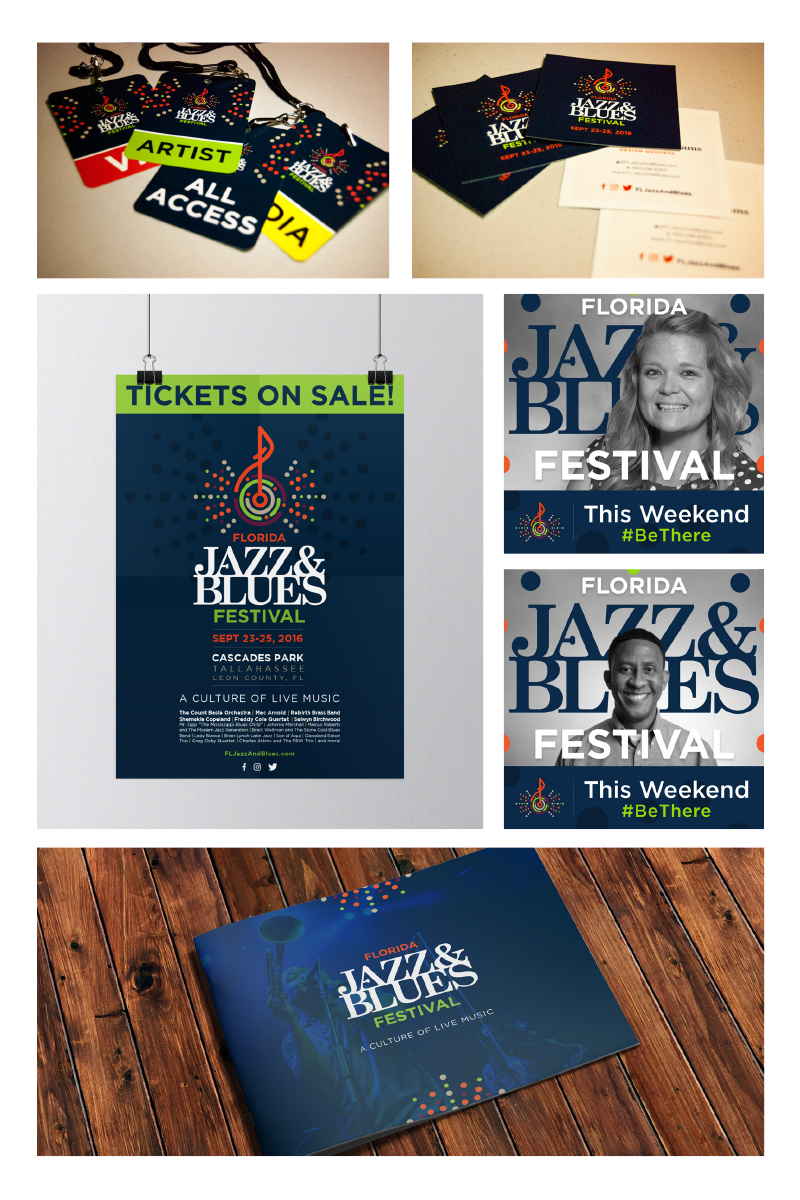Client: Florida Jazz and Blues Festival Submission: Festival Integrated Advertising Campaign
