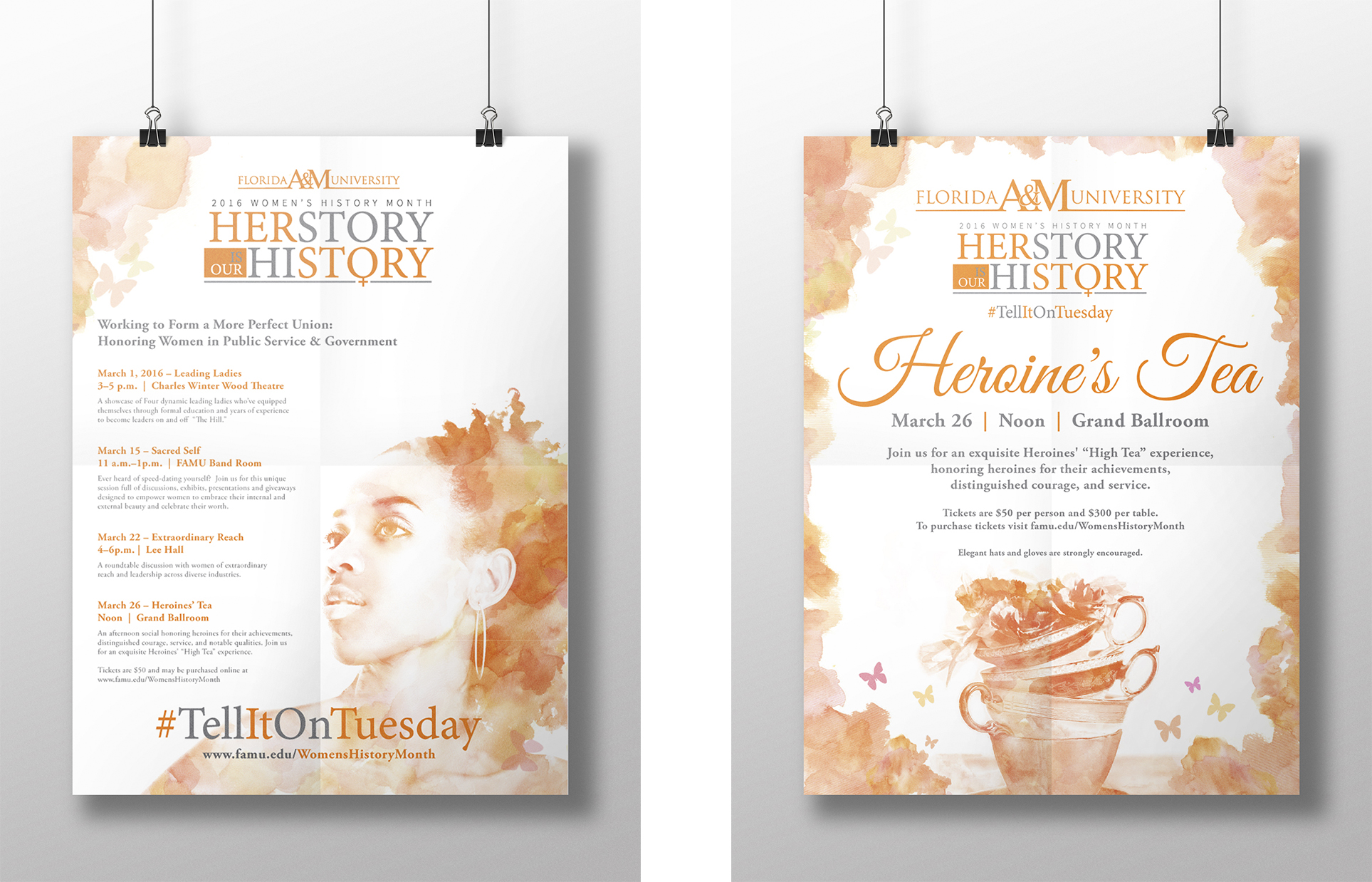 Client: Florida A&M University  Submission: FAMU Women History Month Integrated Branded Content Campaign
