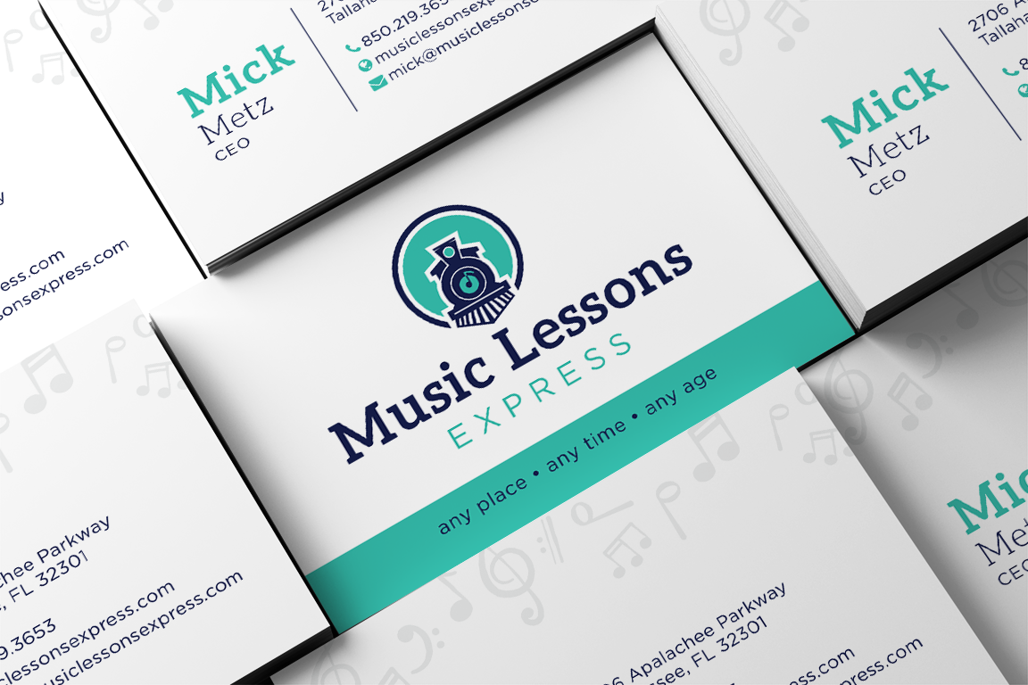 Music Lessons Express Logo