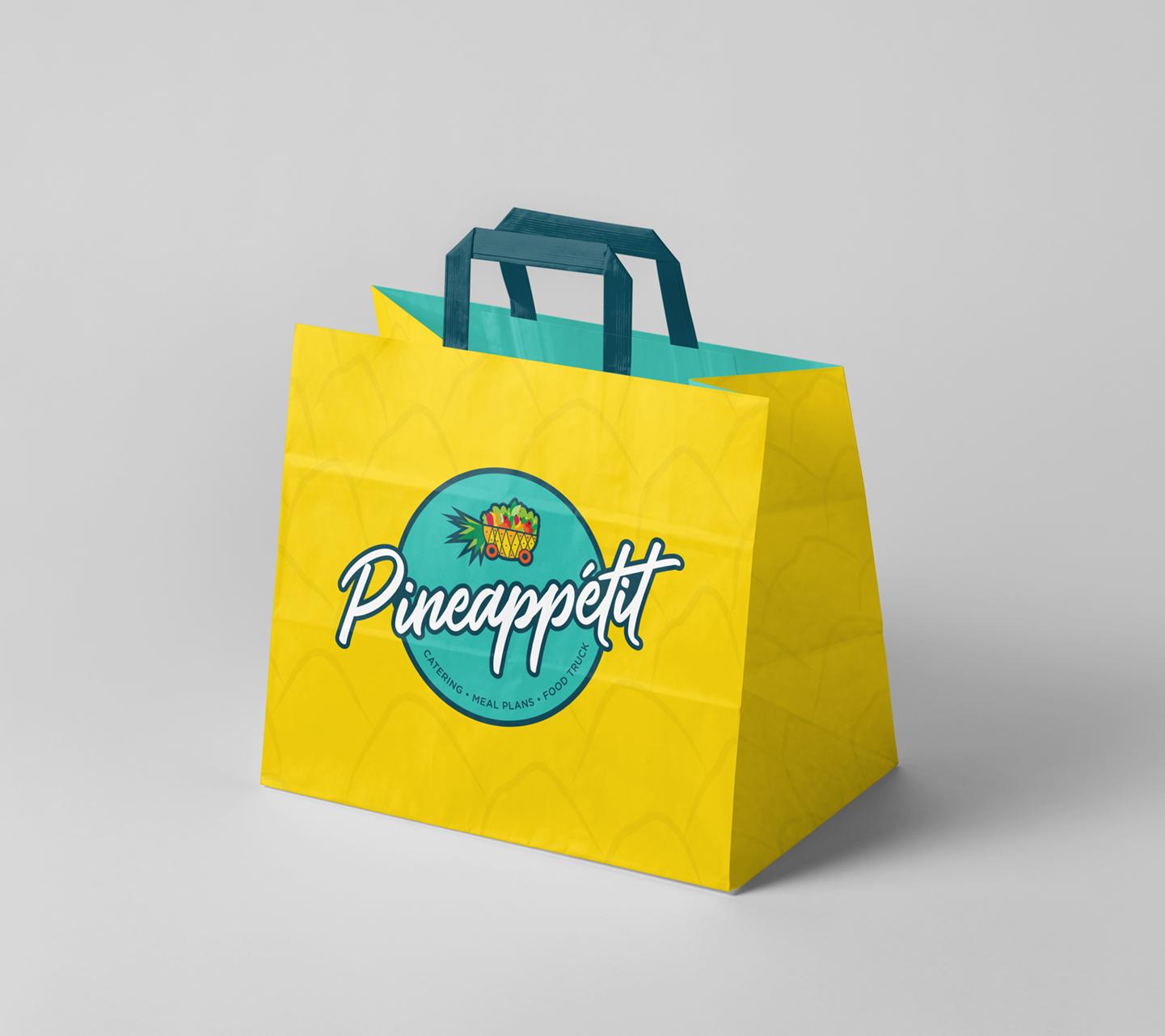 Pineappétit Logo design