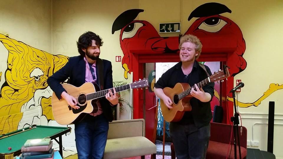 AtSinéad White's Friday Acoustic Showcase joined byChase Nova.  Photo credit:Martcade