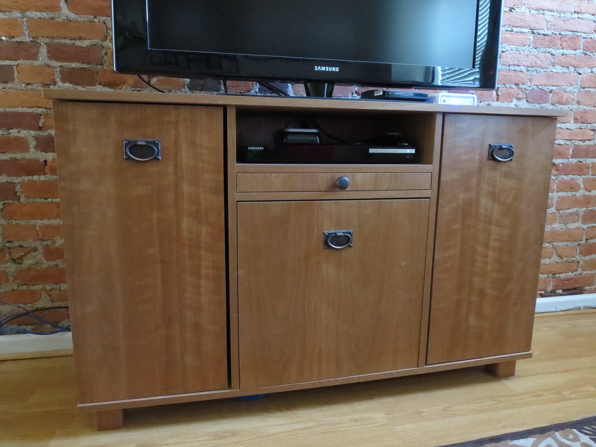 TV Stand With Hidden Storage