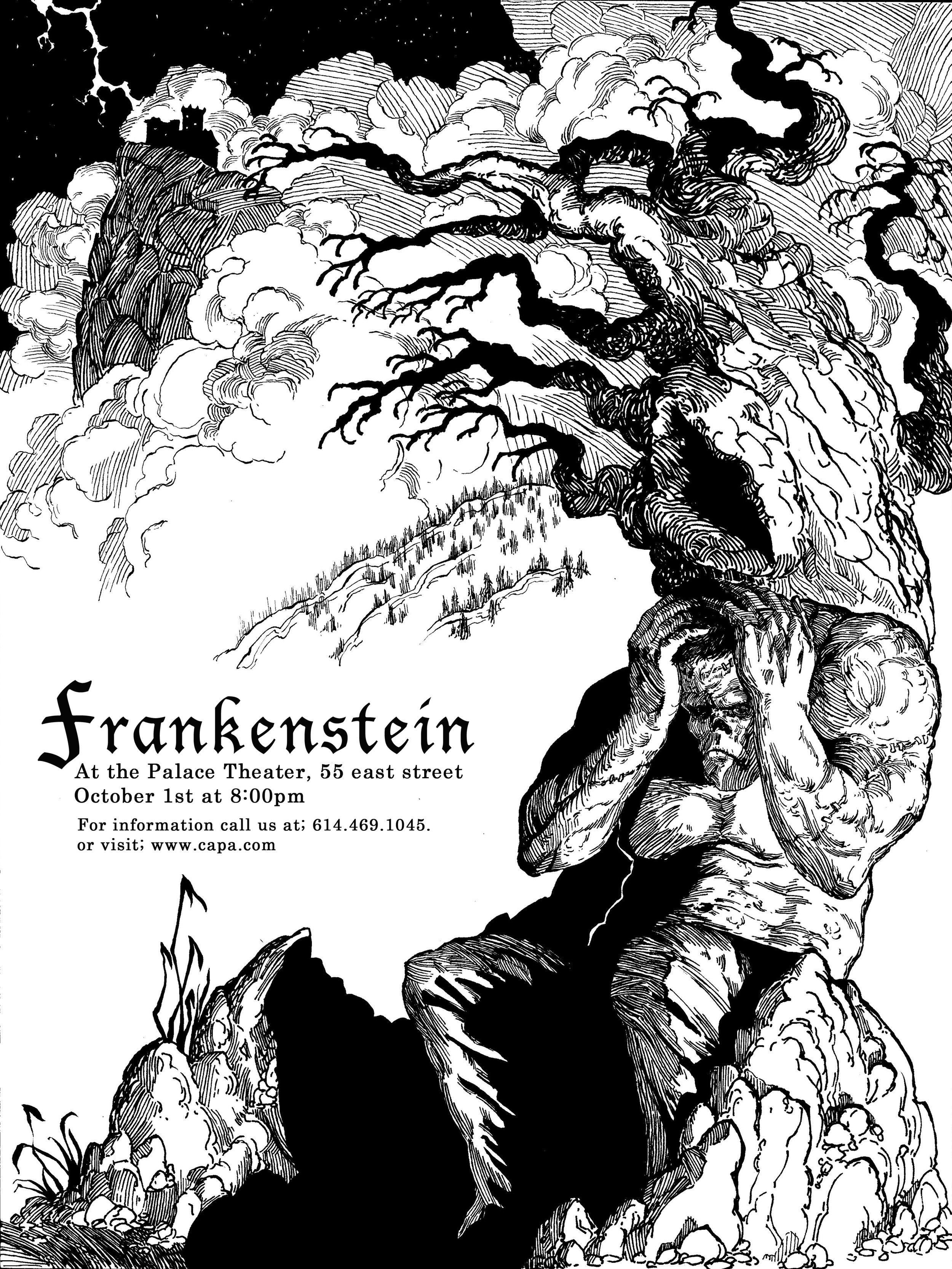 Frankestein Theatrical Poster