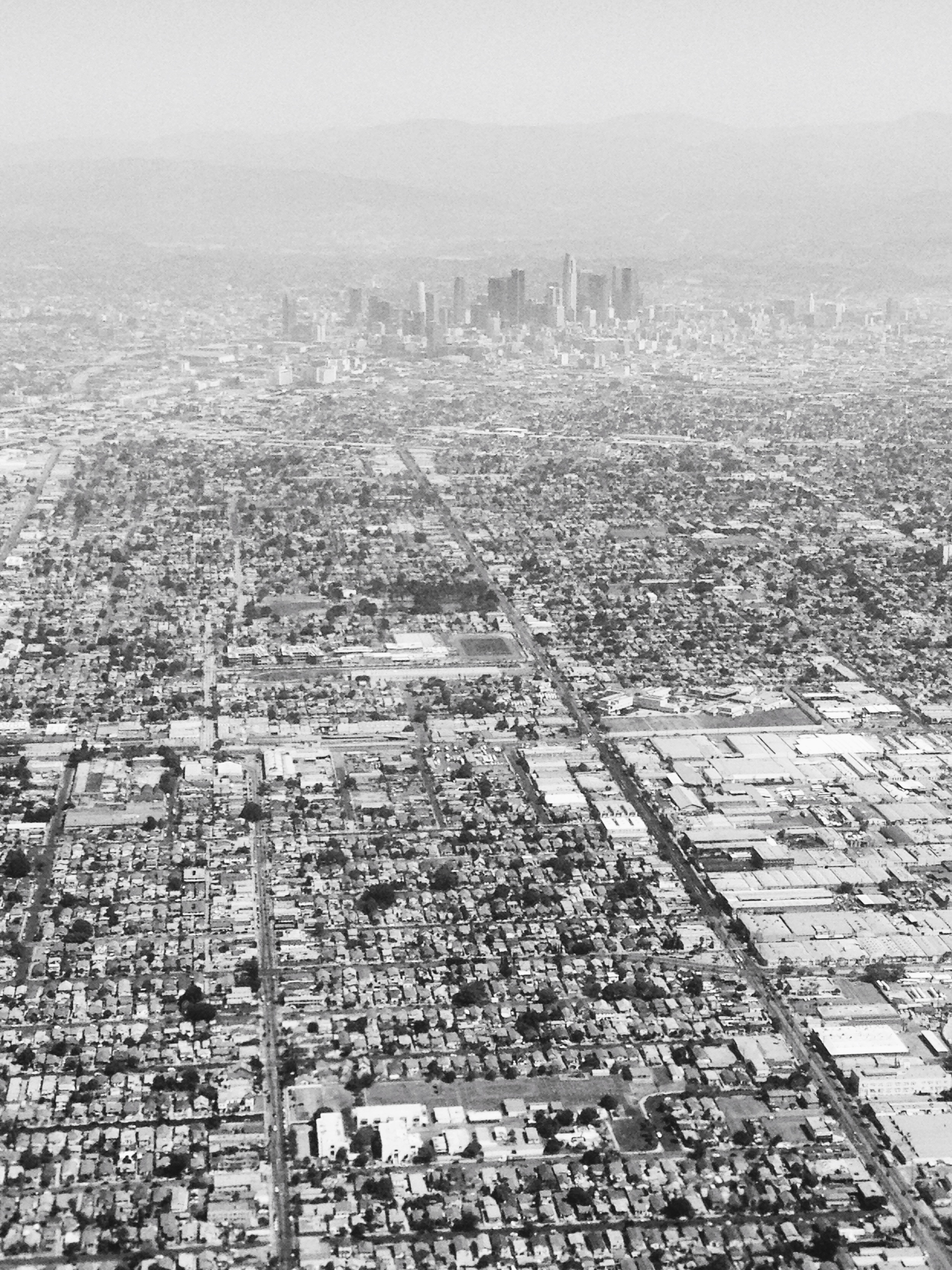 Los Angeles from above. The end of my Indian summer.