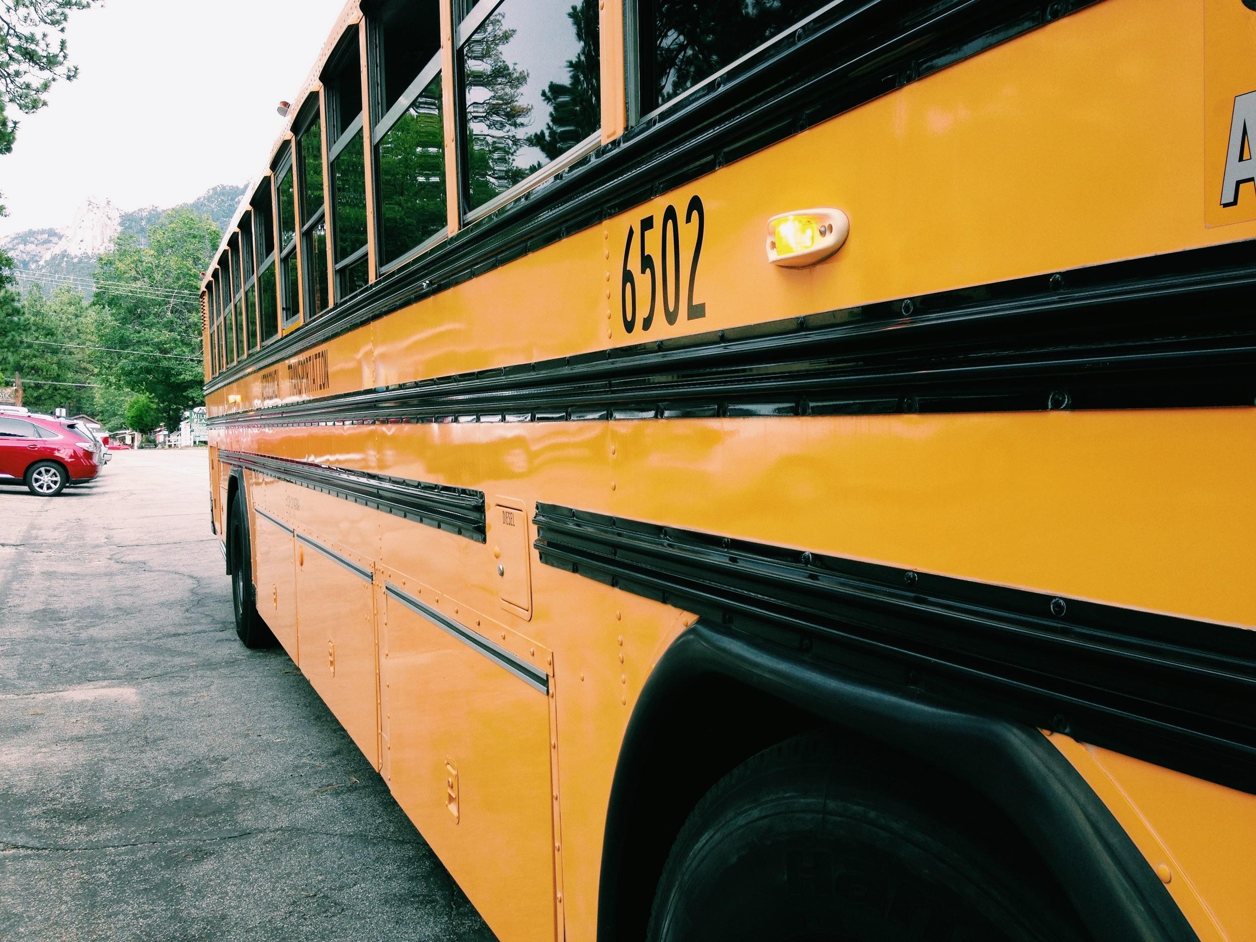 international party bus to Idyllwild!