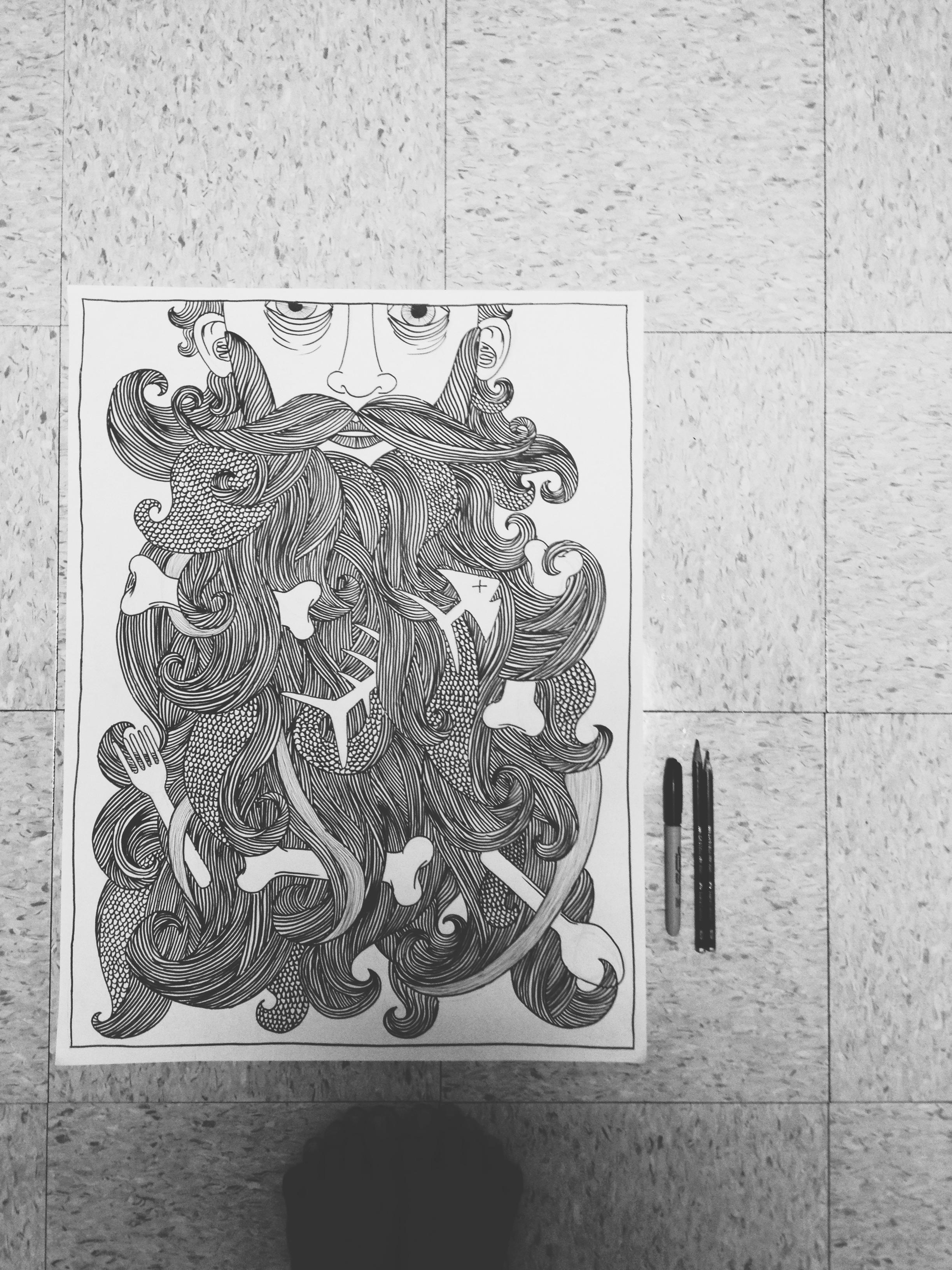 Weekend doodling...