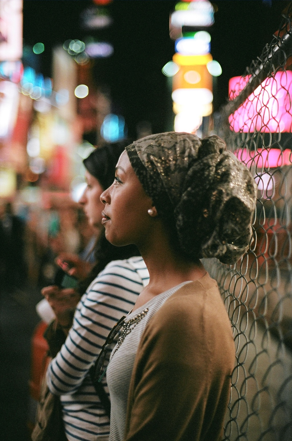 Times Square, NY // Big dreams, bright lights and all that comes with that.