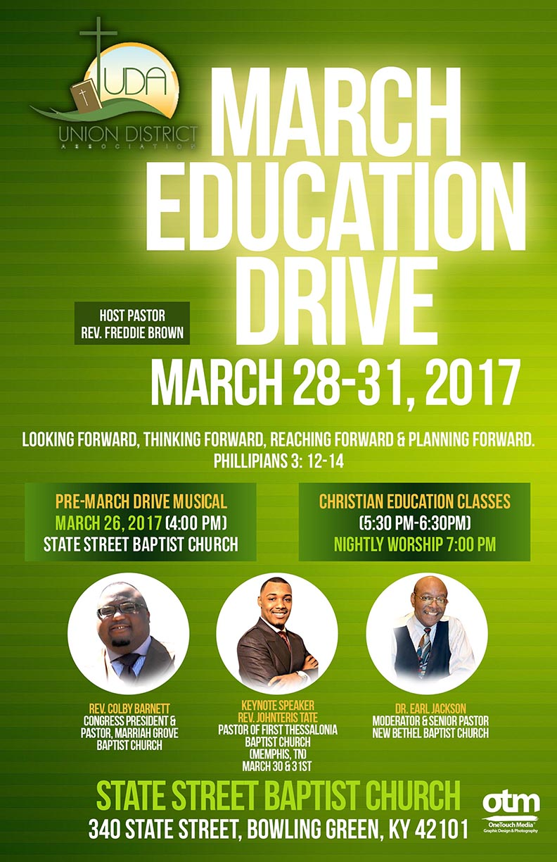 Copy of Union District March Education Drive flyer