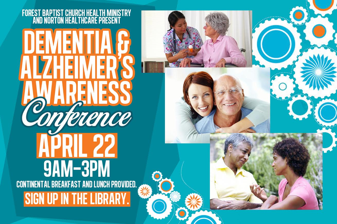 Copy of Forest Baptist Church Alzheimer's & Dementia Conference