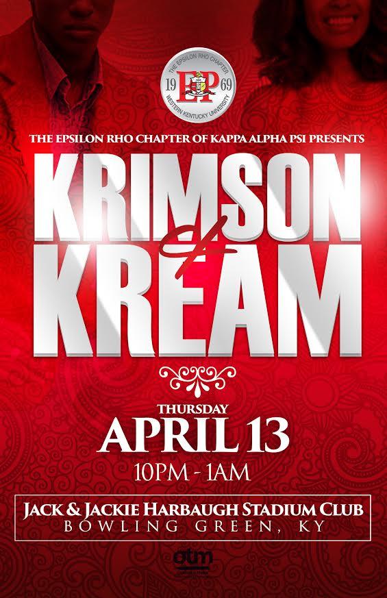 Copy of Epsilon Rho Chapter Krimson & Kream Ball