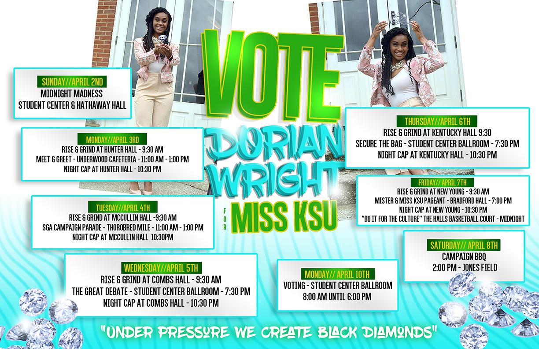 Copy of Dorian Wright Ms. KSU flyer