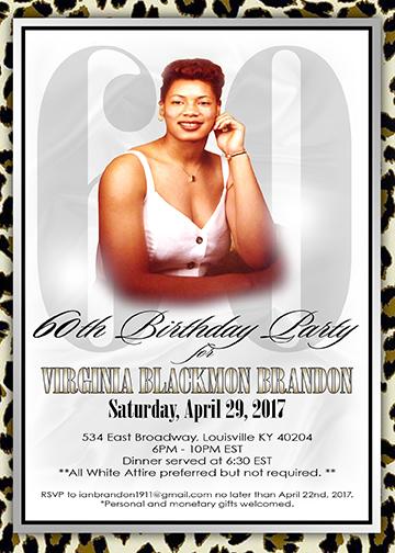 Copy of Virginia Blackmon Brandon birthday invitation
