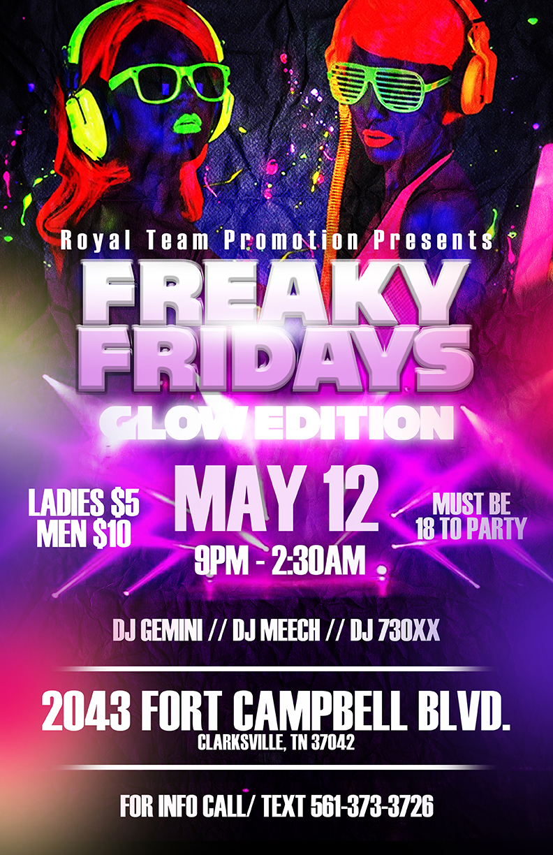 Copy of Freaky Friday flyer