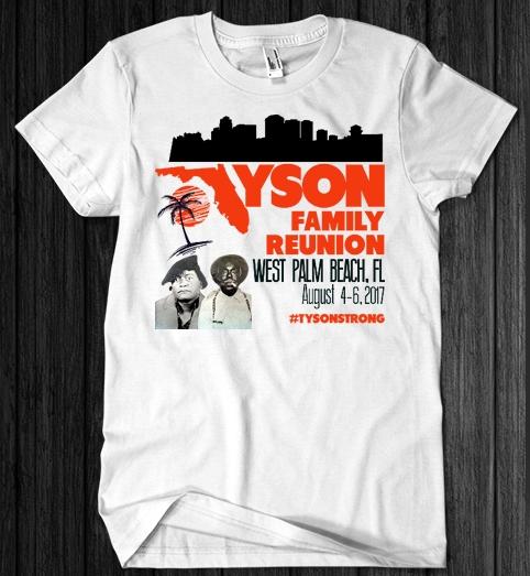 Copy of Tyson Family Reunion Shirt