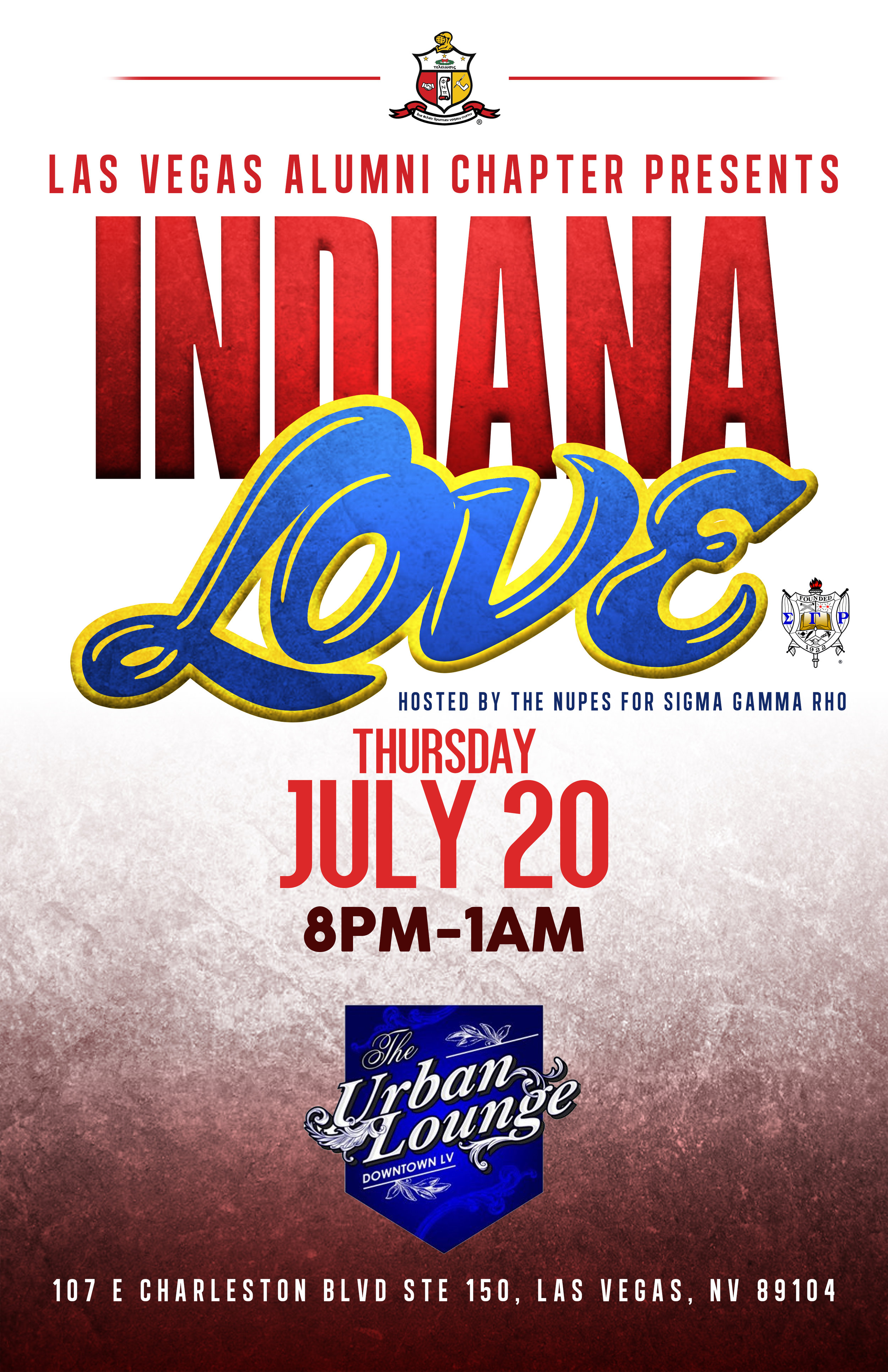 Copy of Indiana Love party flyer