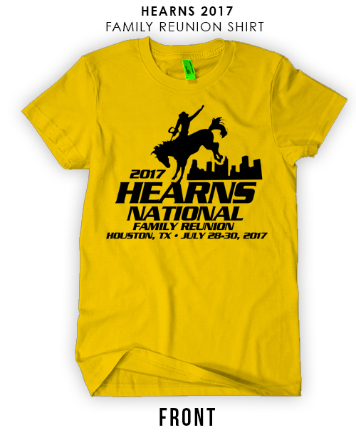 Copy of Hearns National Family Reunion shirt