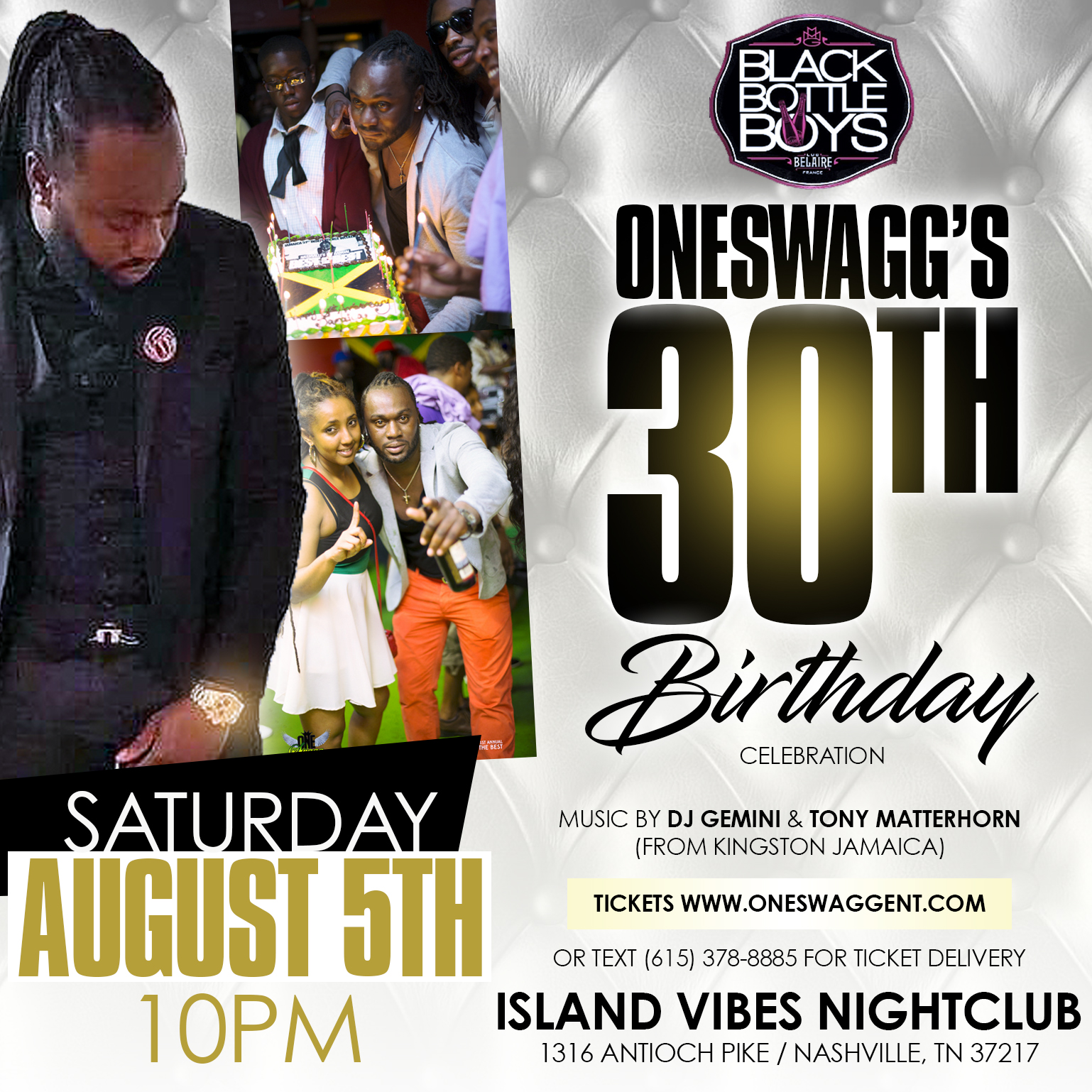 Copy of Swagg 30th Bday flyer
