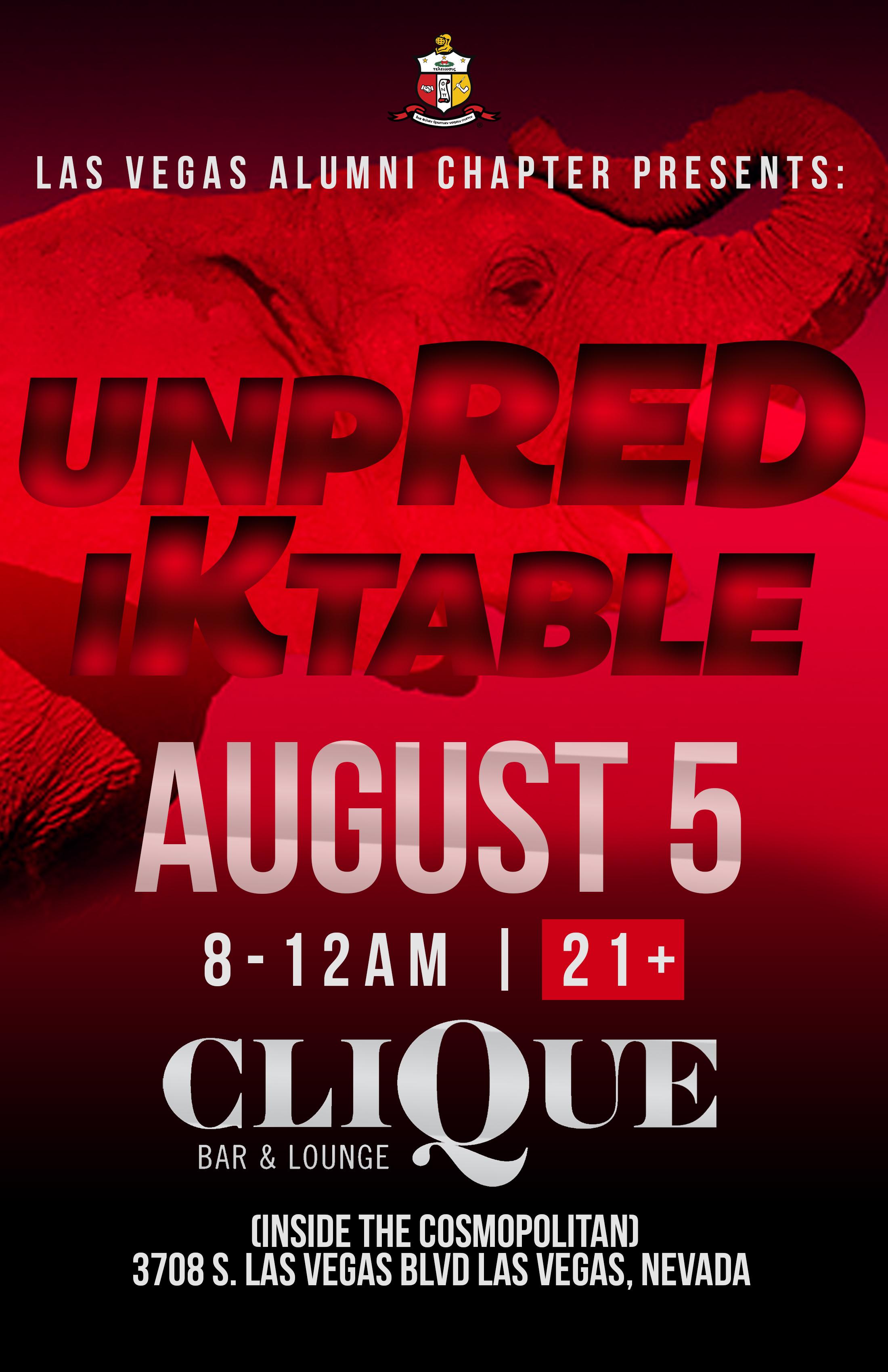 Copy of Delta's UnpREDiKtable Party flyer