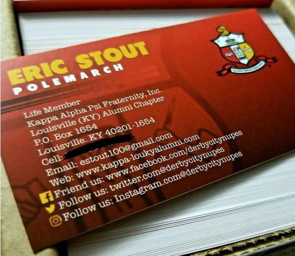 Copy of Stout Business Cards