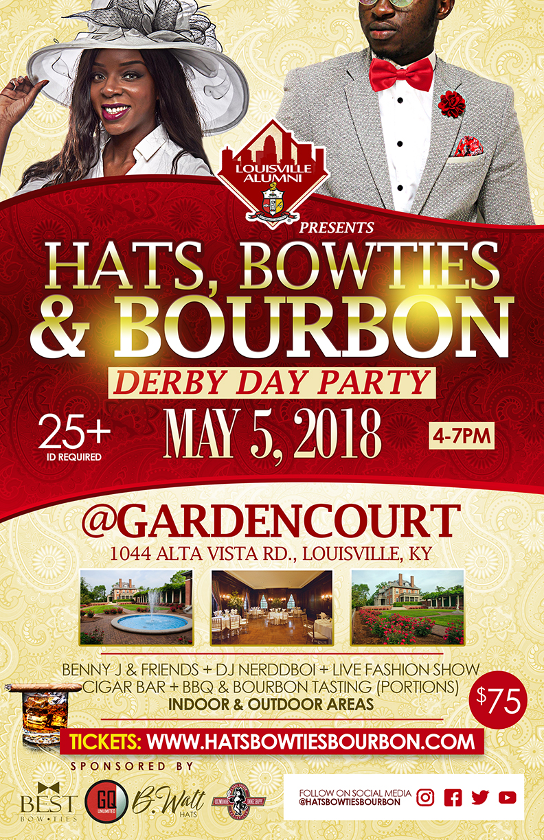 Copy of Hats, Bowties & Bourbon Derby Day Party