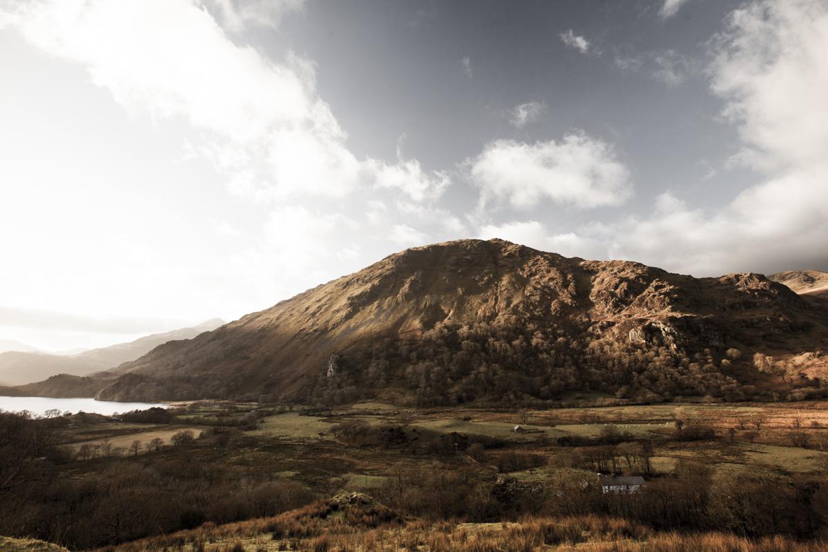 Towards the Snowdonia range.