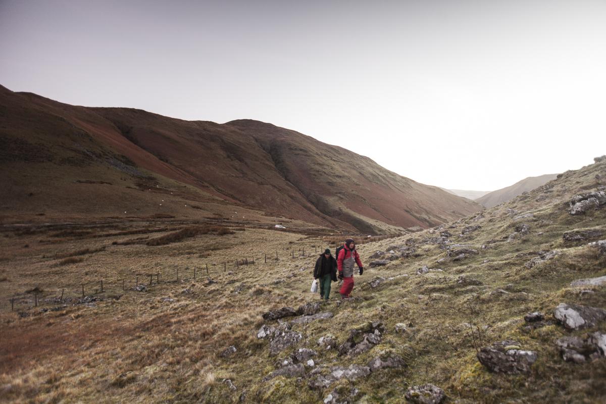 Rhydymain and the mountain climb.