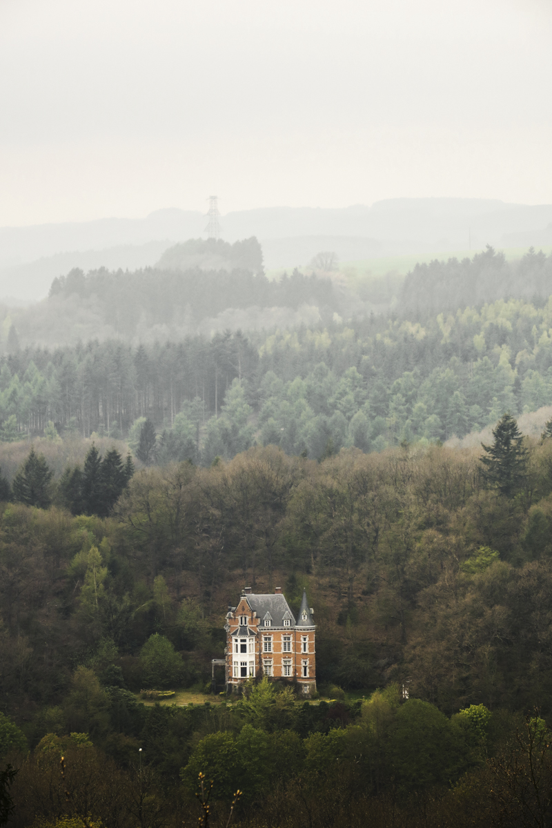 Stunning residence as seen from the Deister viewpoint in La Roche