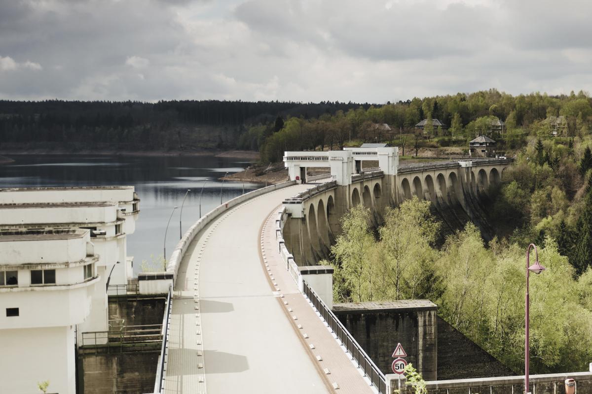 The Vesdre dam