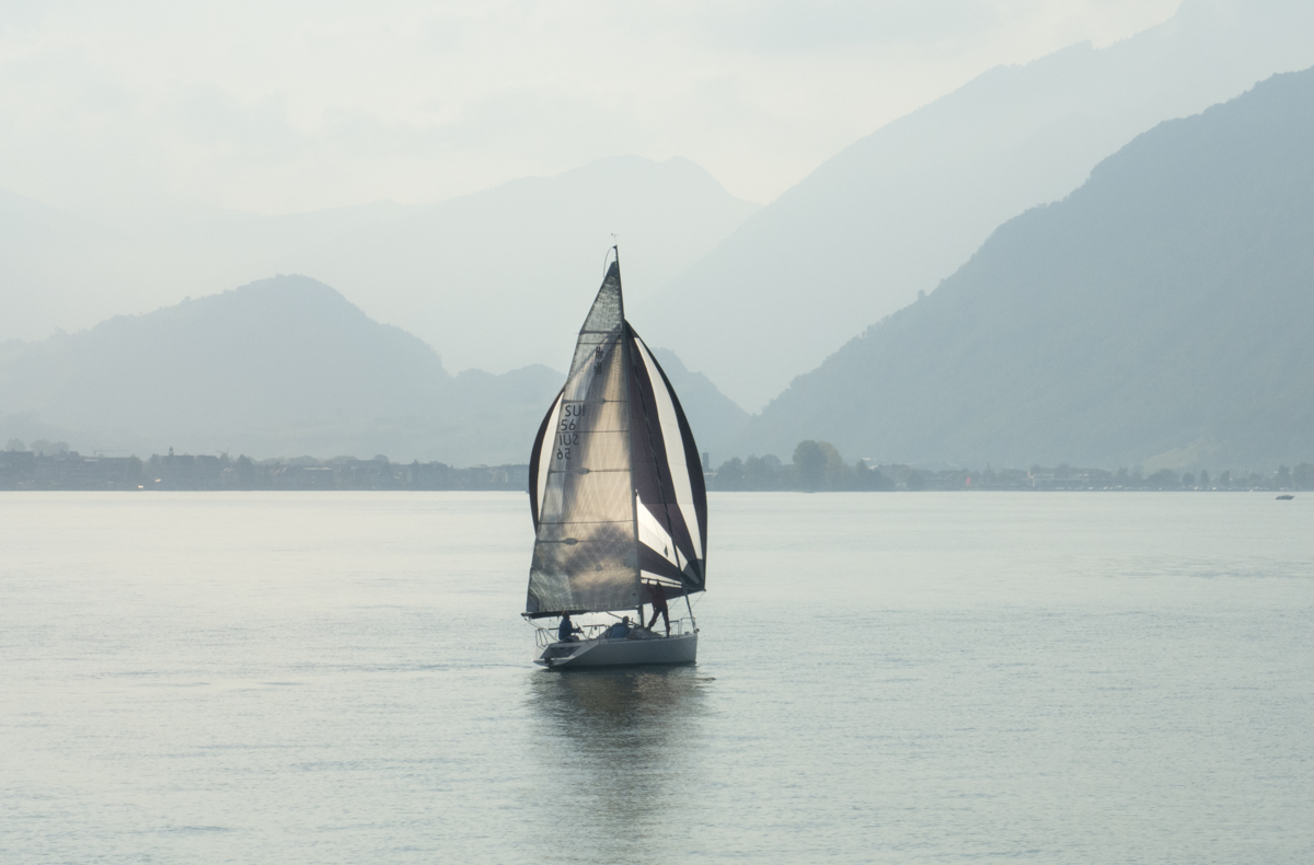 Sail Away on the tranquil waters of Lake Lucerne.