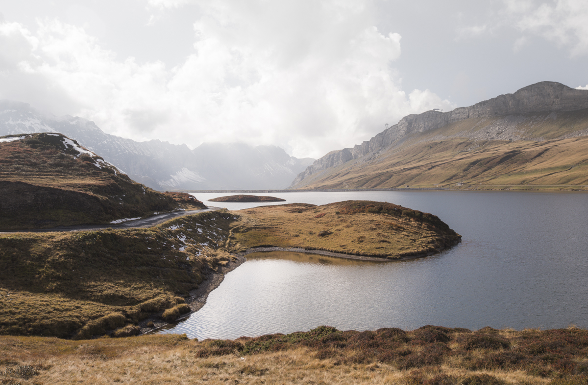 Stunning views over the Tannensee.
