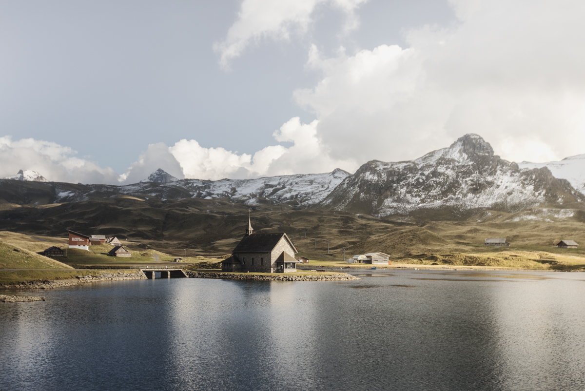 This little chapel at the Melchsee helped make this wonderful setting into a perfect setting.