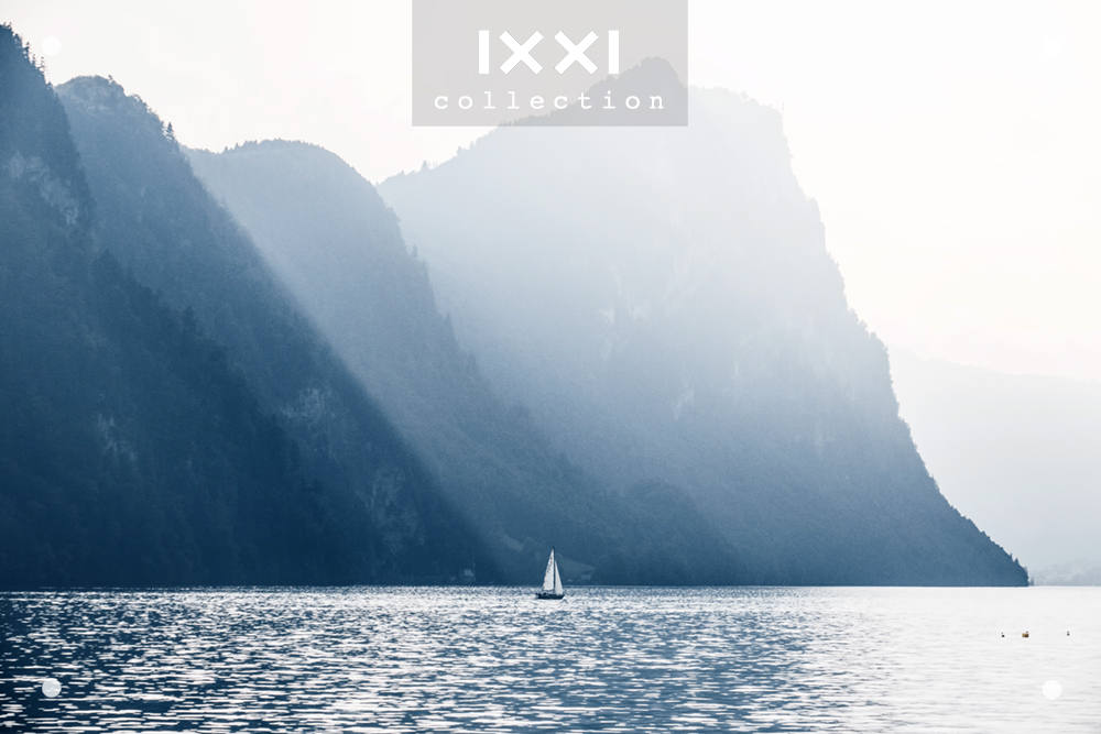 Switzerland, Lake Lucerne - Sailing boat