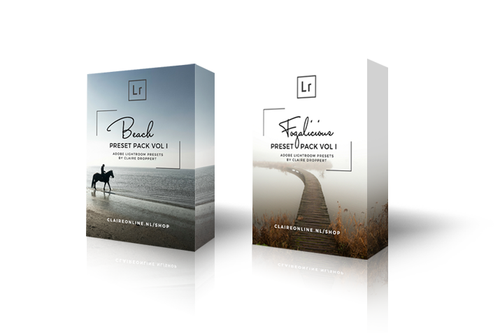 Adobe lightroom presets by claire droppert